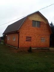 Дом-Баня из бруса готовые срубы с установкой-10 дней недорого Слуцк
