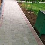 Укладка тротуарной плитки в Слуцке и Минске от 50м2