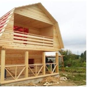 Дом для дачи из проф. бруса 6х8 м сруб