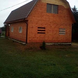 Недорогие Дома из бруса установка в Слуцком районе