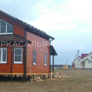 Каркасный Дом под ключ 7х10 по проекту Левис