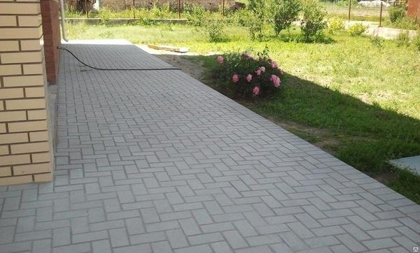 Укладка тротуарной плитки в Слуцке и Минске от 50м2 2